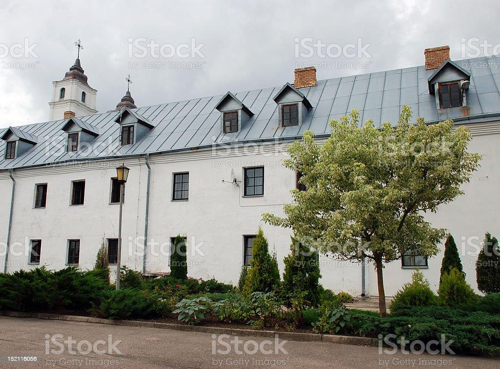 Aglona church in Latvia royalty-free stock photo