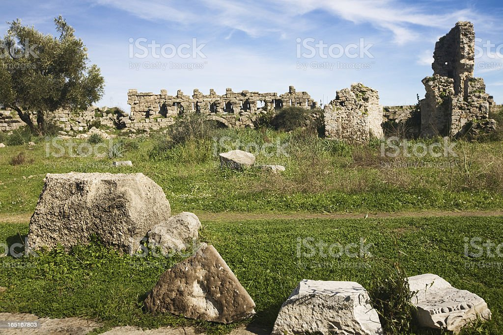 Agora in Side royalty-free stock photo
