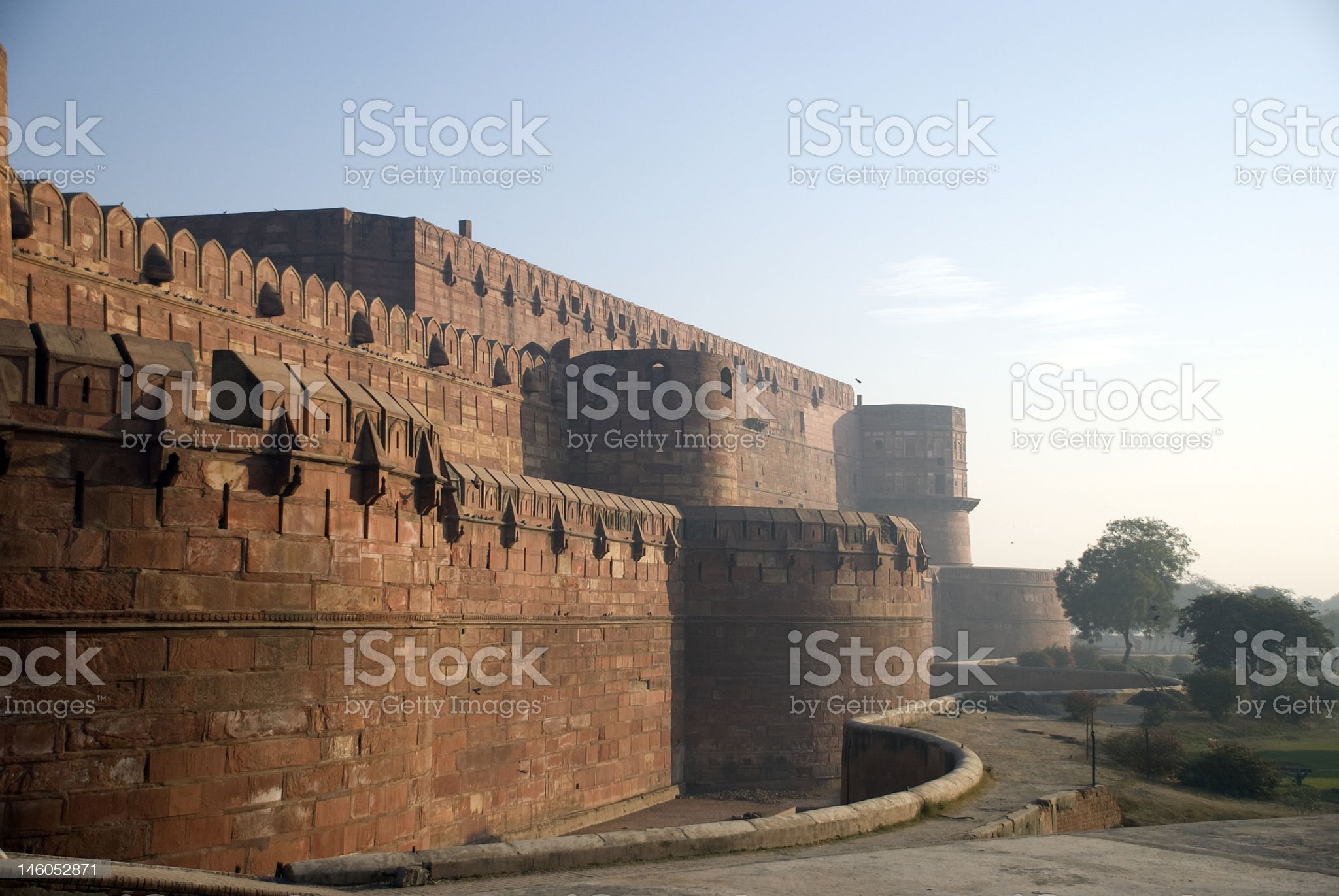 Agra Fort, India royalty-free stock photo