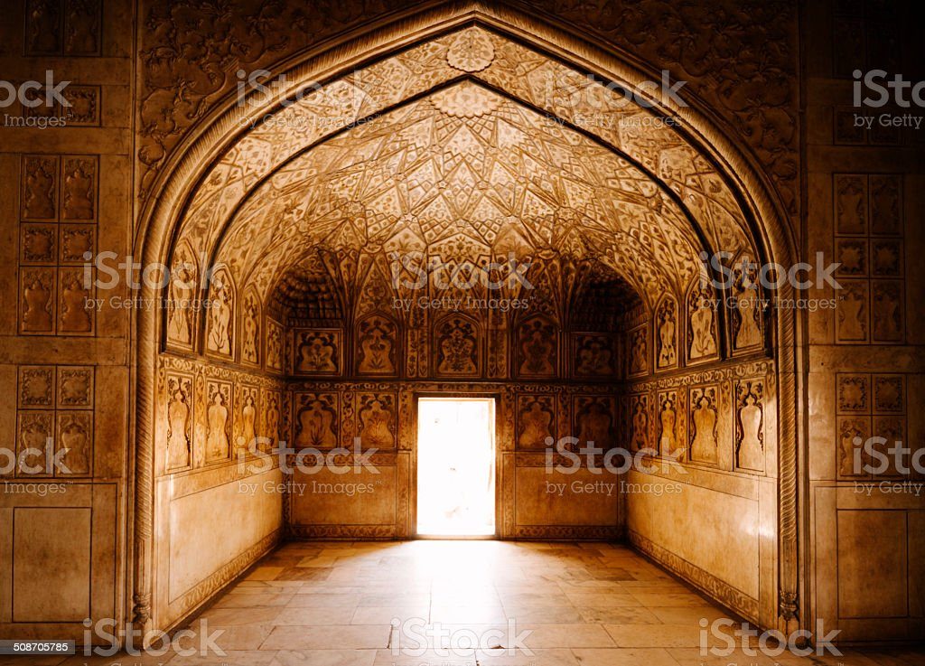 Agra Fort, India stock photo