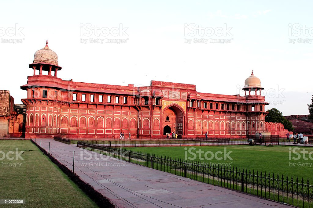 Agra fort, Uttar pradesh,india stock photo