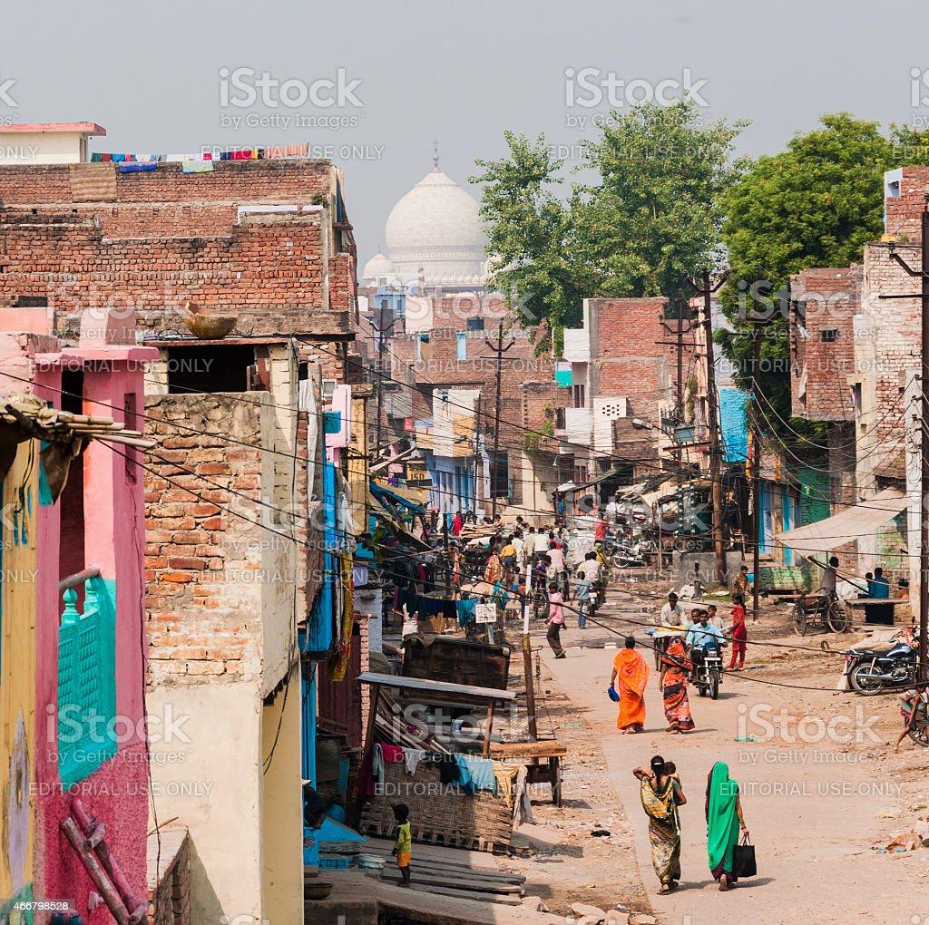 Agra stock photo