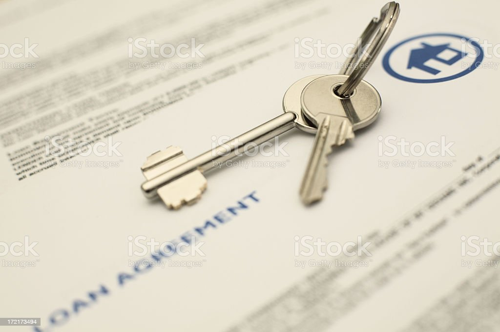Agreement close-up royalty-free stock photo