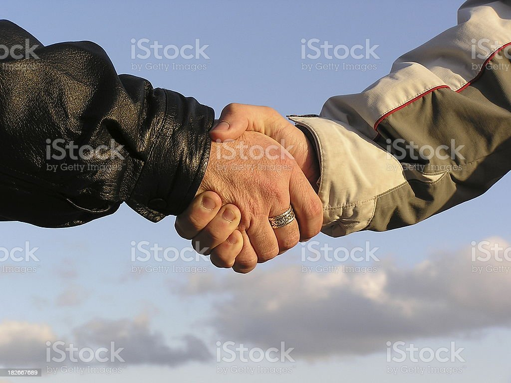 Agreement Handshake stock photo