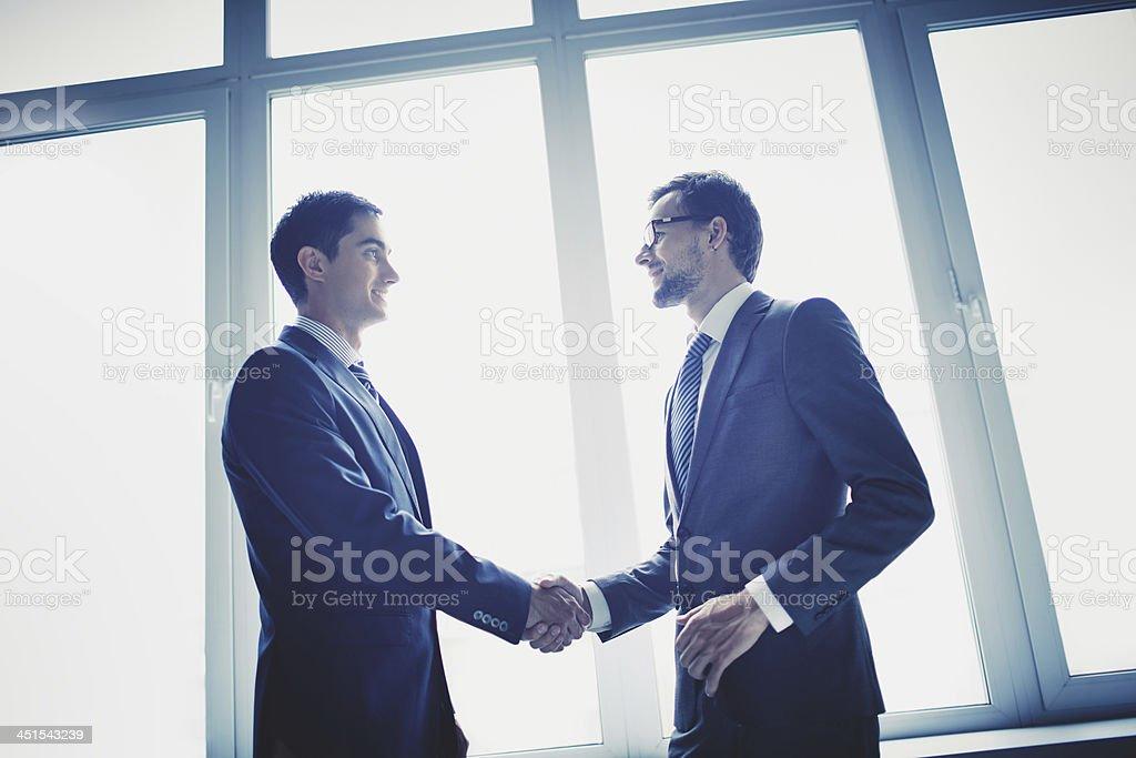 Agreement stock photo