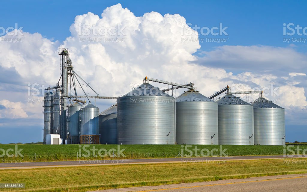 Agri business structure stock photo