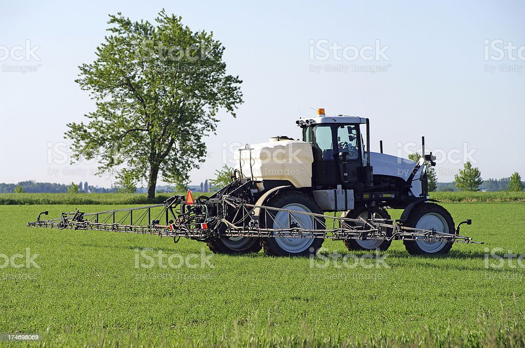 Agricultural Chemical Spray royalty-free stock photo