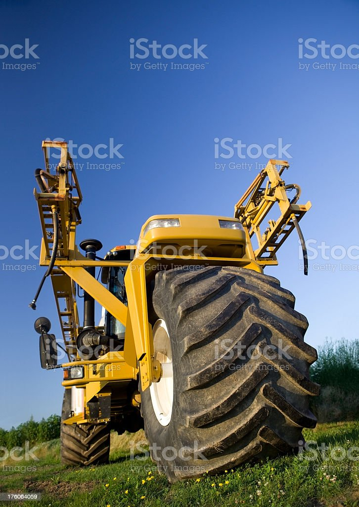 Agricultural Chemical Sprayer stock photo
