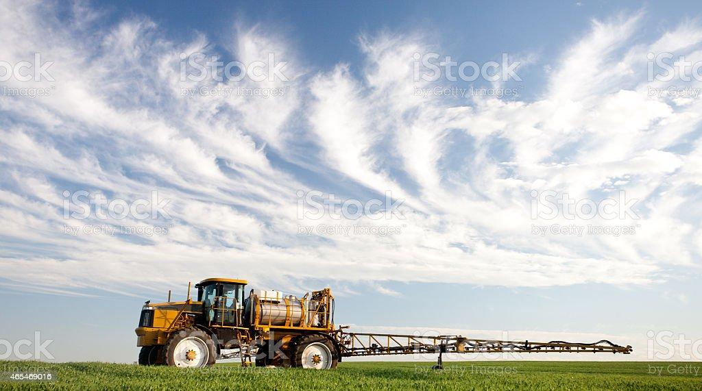 Agricultural Crop Sprayer stock photo