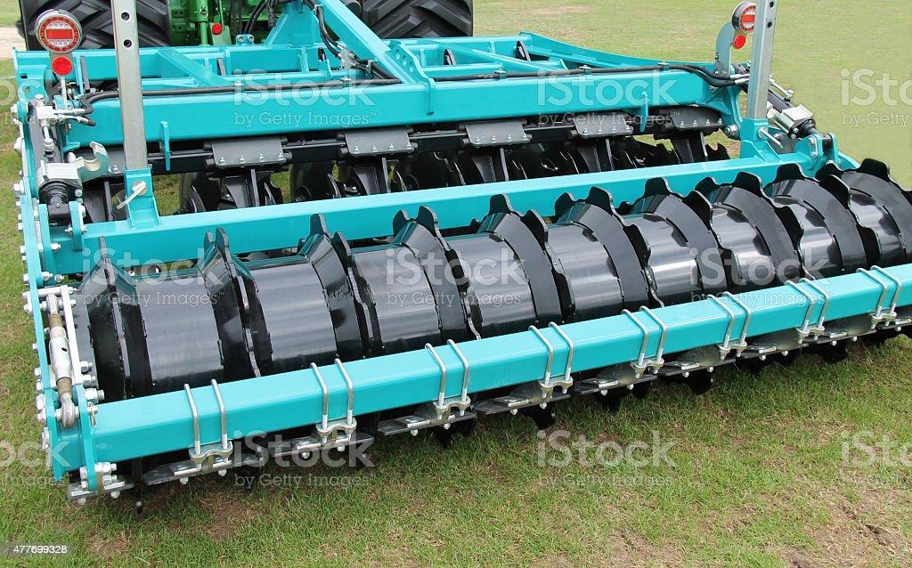 Agricultural Disc Harrow. stock photo
