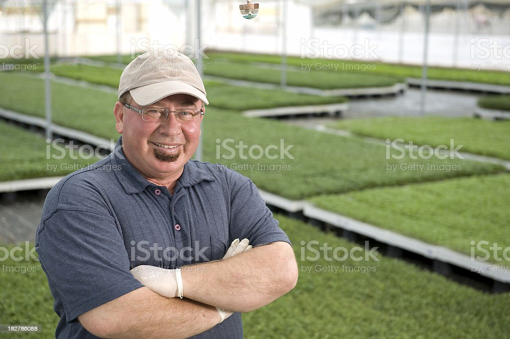 Agricultural Engineer royalty-free stock photo
