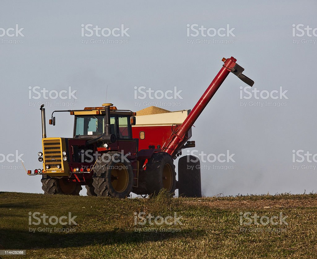 Agricultural Machinery stock photo