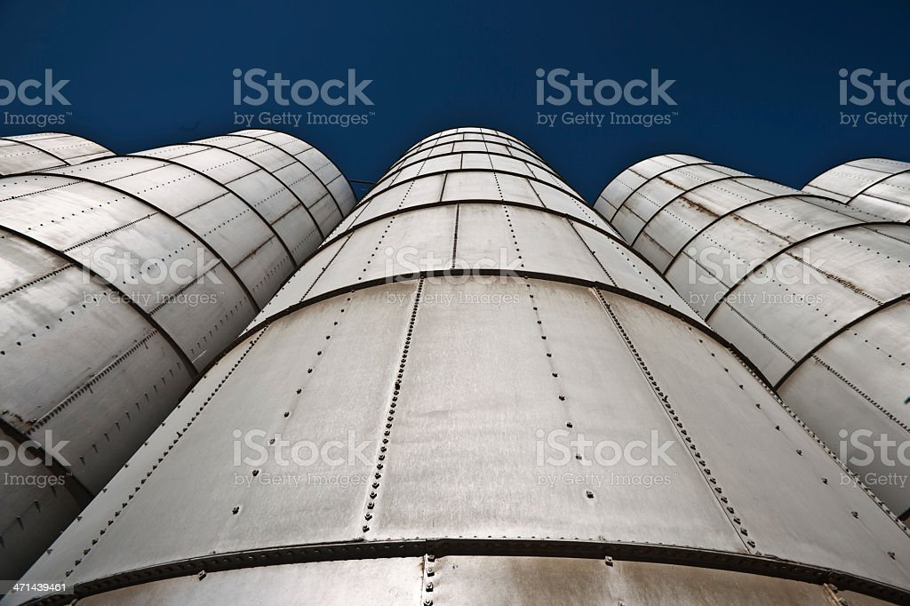 Agricultural Storage royalty-free stock photo