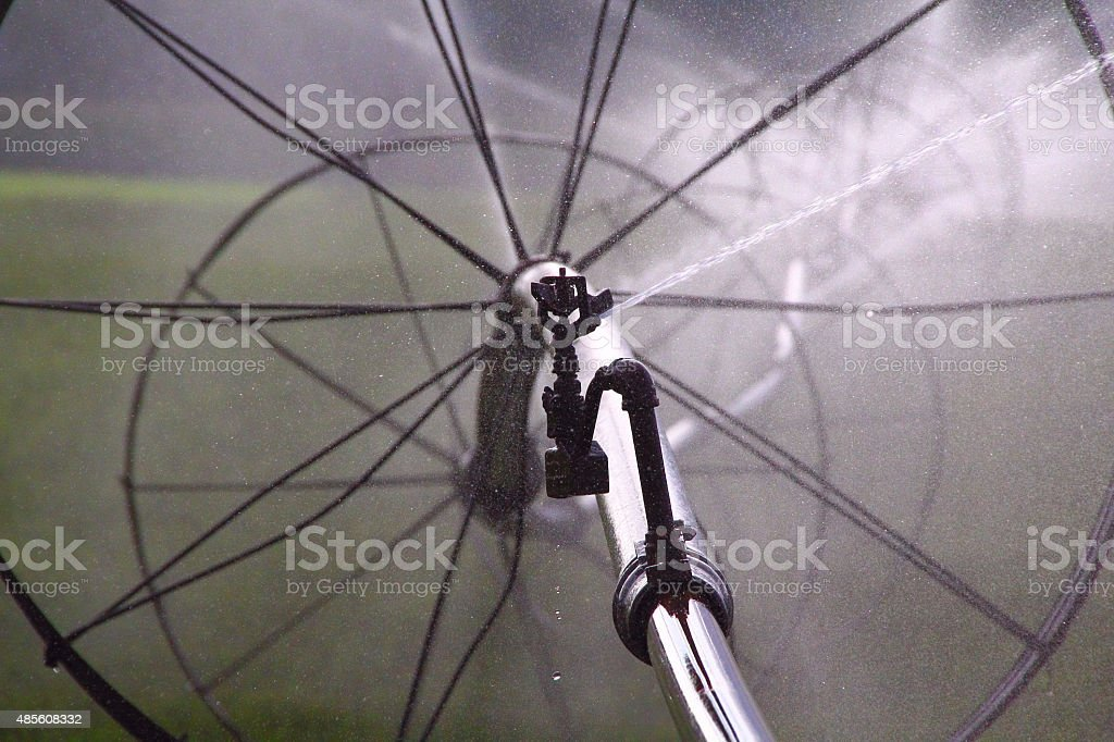 Agricultural Watering stock photo