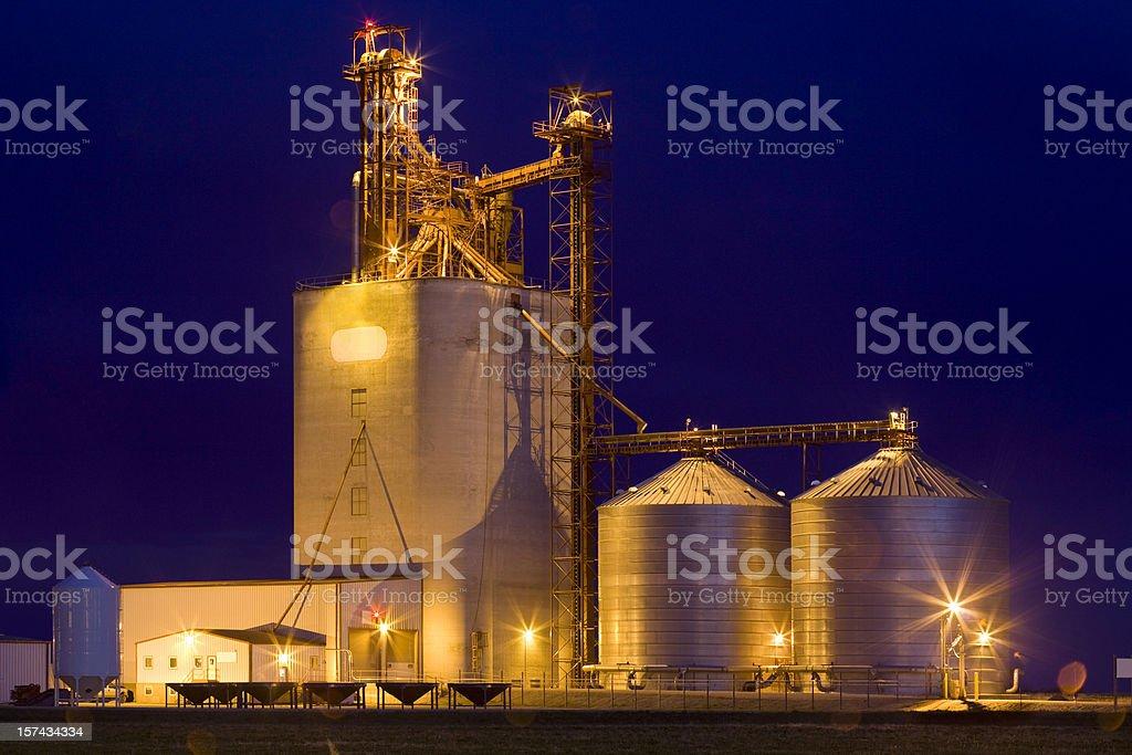 Agriculture, Grain Elevators stock photo