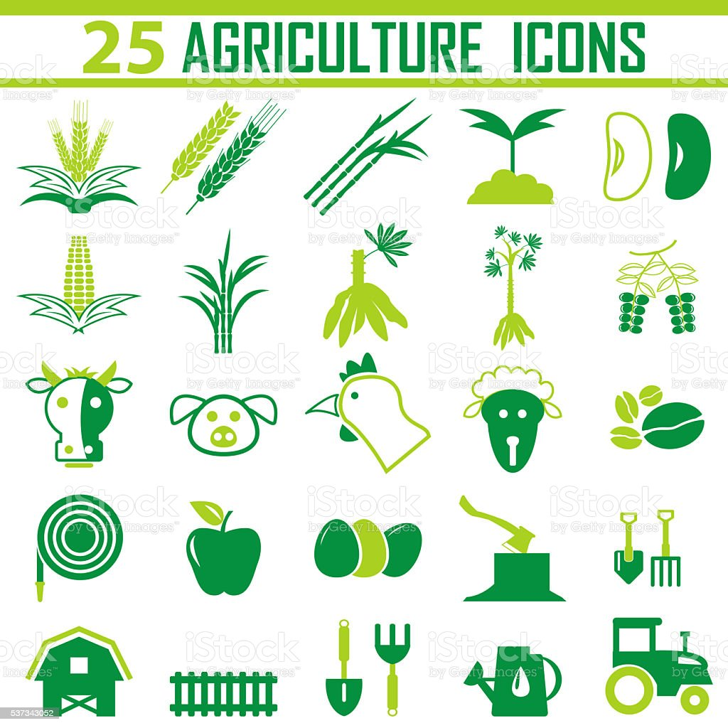 agriculture Icon, agriculture Icon Vector, stock photo