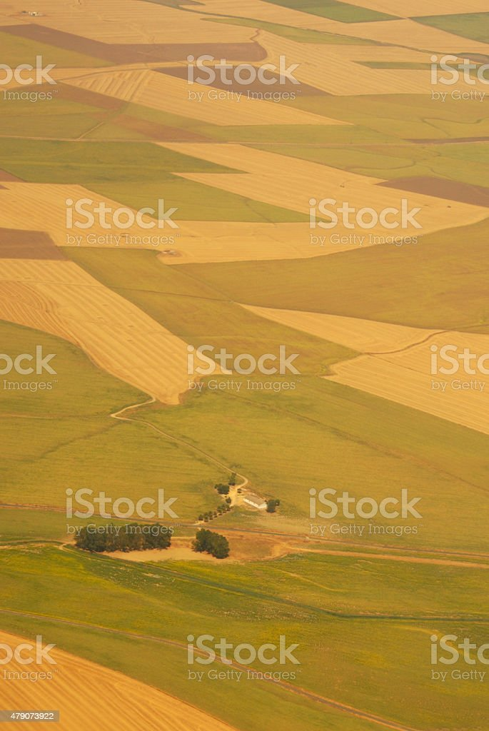 Agriculture landscaped from Mediterranean Countries stock photo