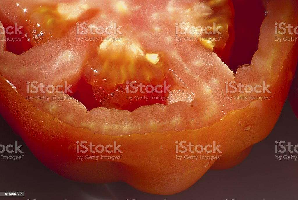 Agriculture & Vegetables Food / Tomato (Ingredients for Salad) royalty-free stock photo