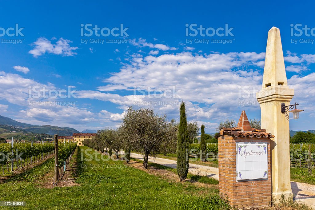 Agriturismo in Valpolicella, Italy royalty-free stock photo