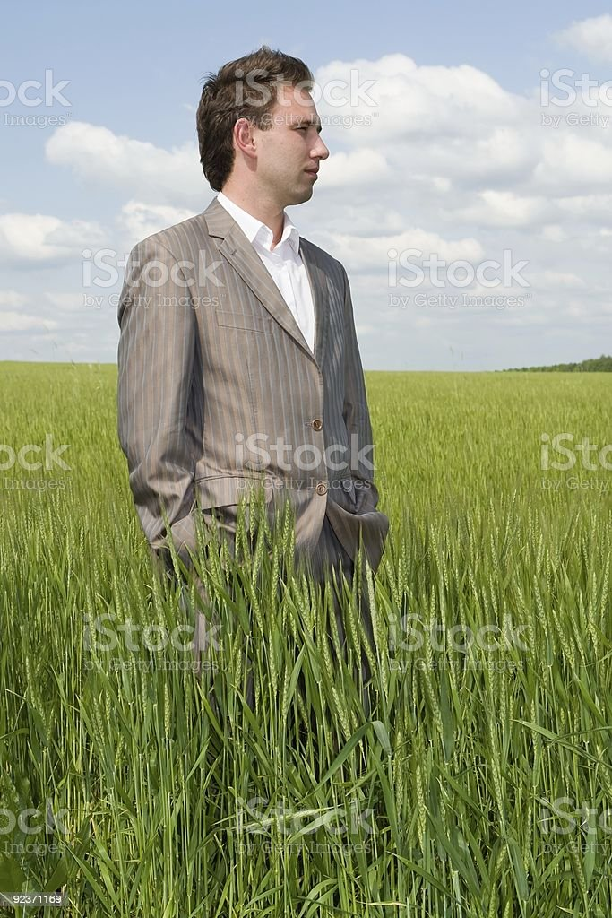 Agronomist royalty-free stock photo