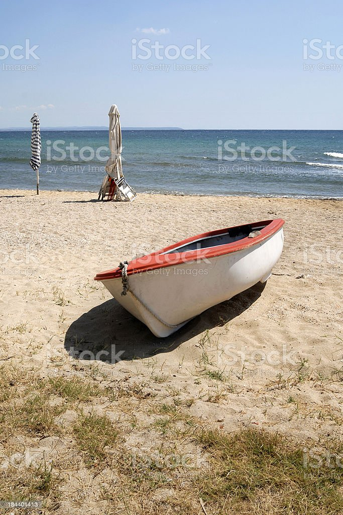 aground royalty-free stock photo