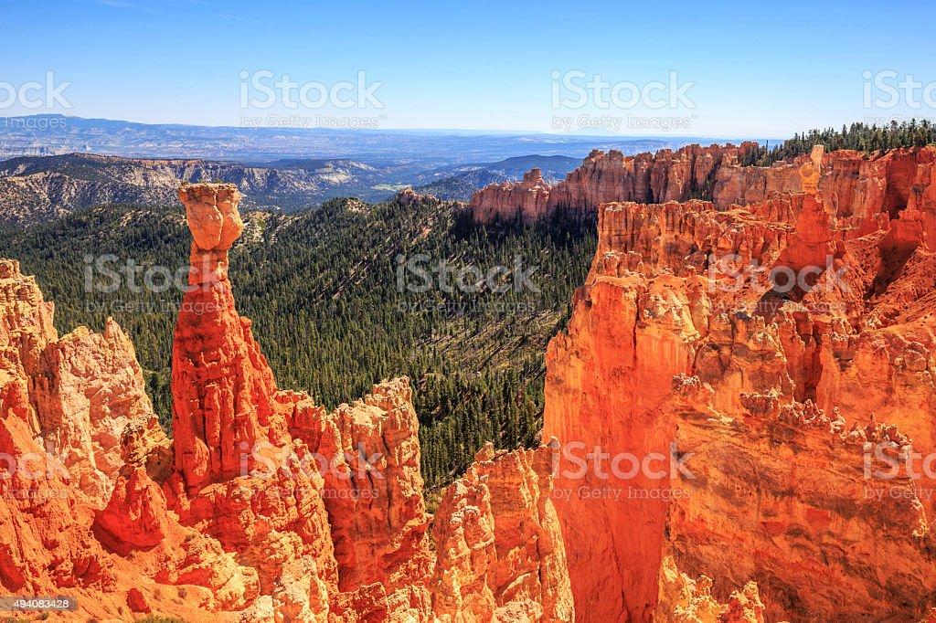 agua canyon in Bryce Canyon National Park, Utah stock photo