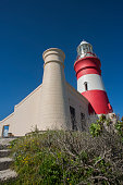 L'Agulhas Lighthouse from the side