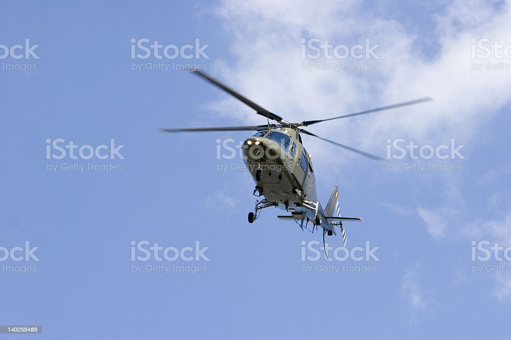 AgustaWestland A 109 royalty-free stock photo