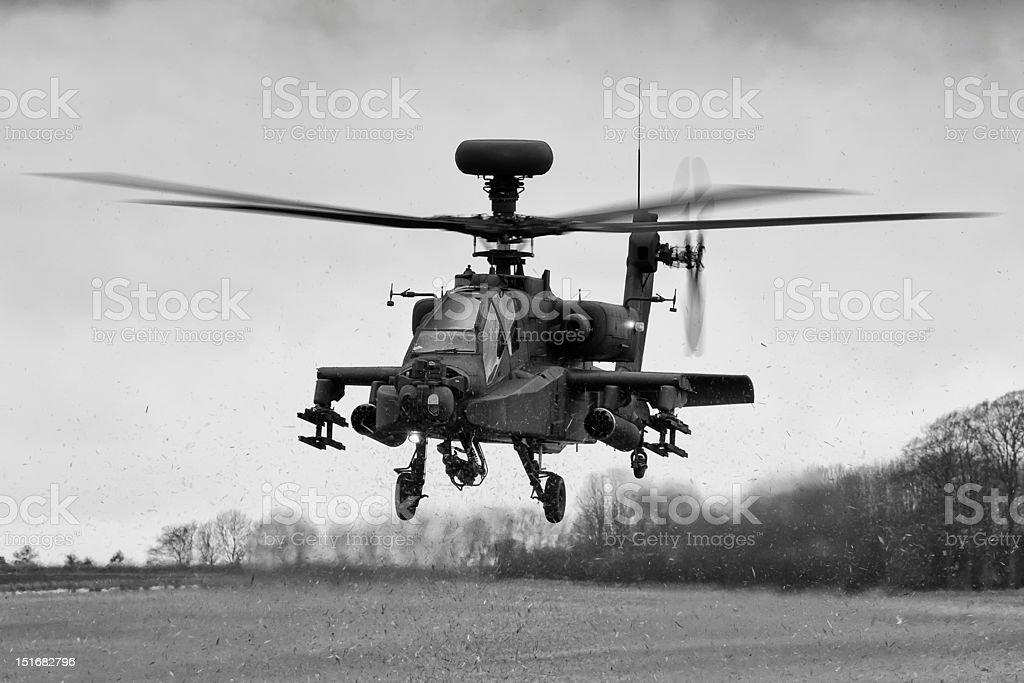 AgustaWestland Apache AH Mk1 stock photo