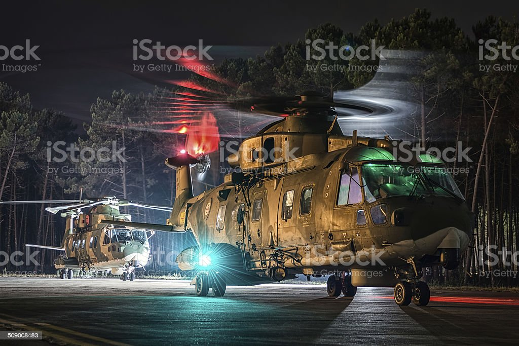 AgustaWestland AW101 Merlin stock photo