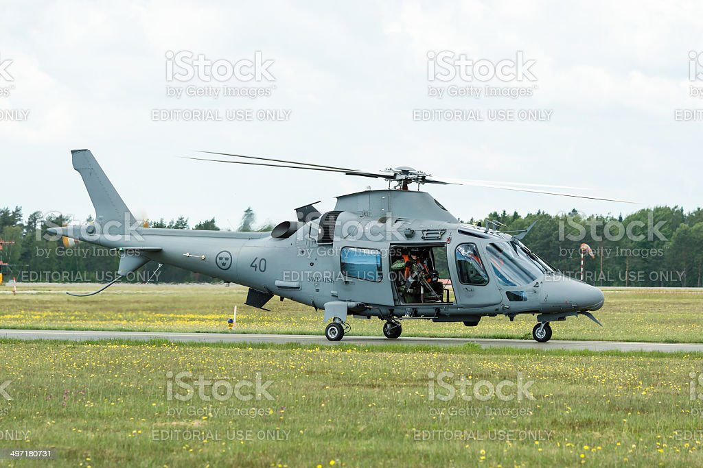 AgustaWestland AW109 stock photo