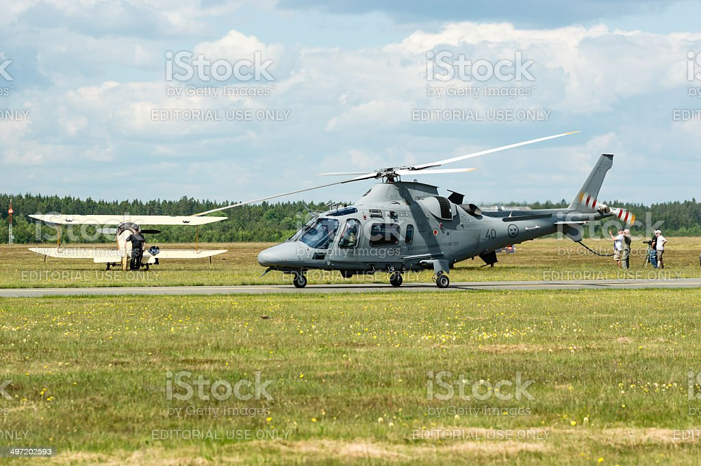 AgustaWestland AW109 royalty-free stock photo