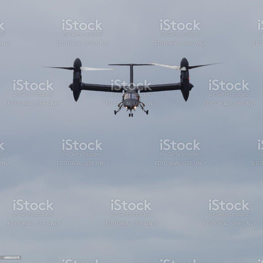 AgustaWestland AW609 tilt rotor aircraft stock photo