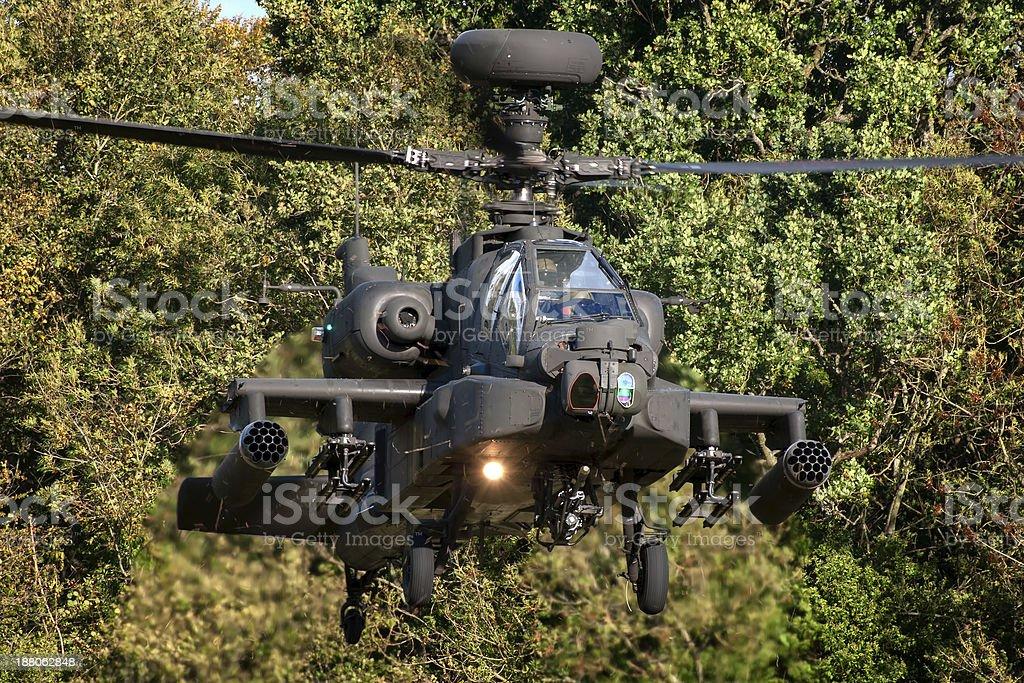 AgustaWestland WAH-64D Apache stock photo
