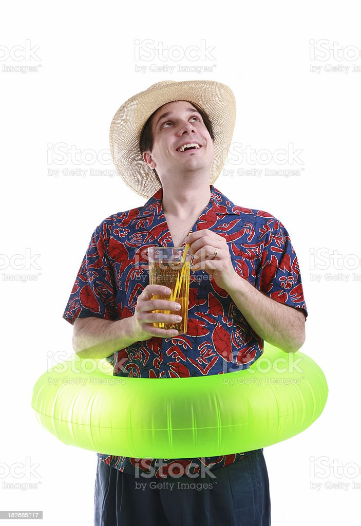 Ahhh, Vacation! stock photo