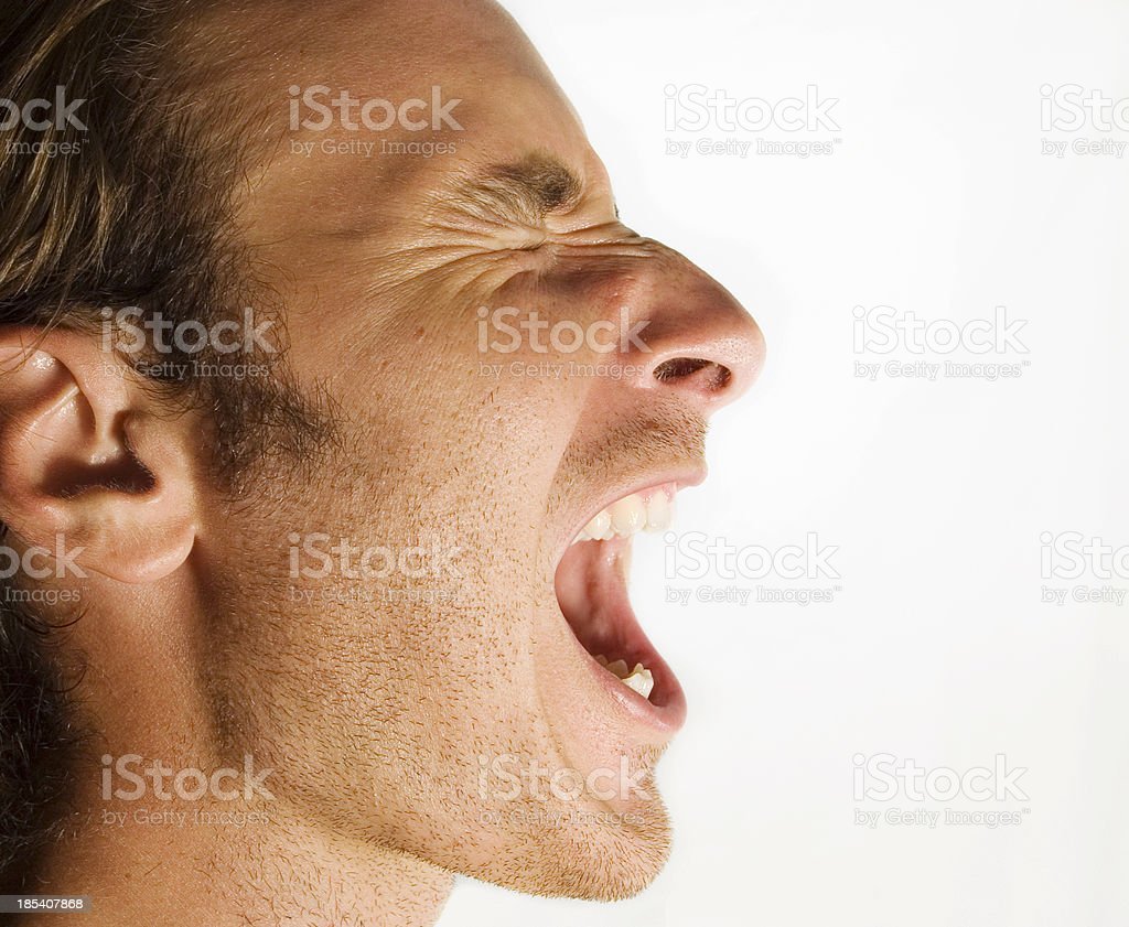 Ahhhhh!!!! royalty-free stock photo
