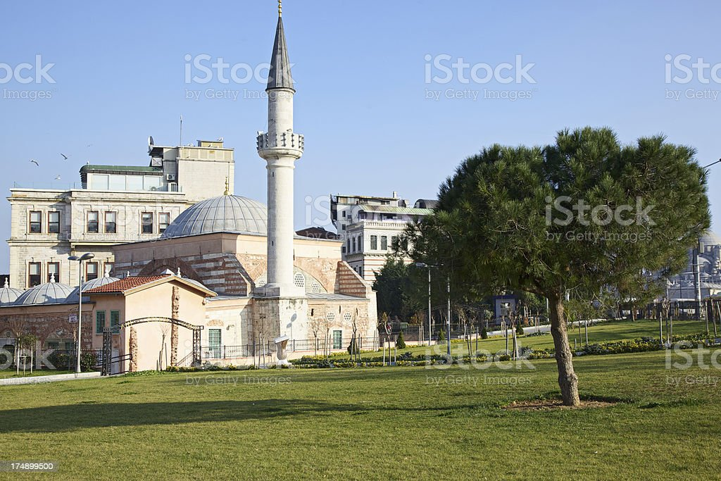 Ahi Celebi Mosque. Istanbul, Turkey. stock photo
