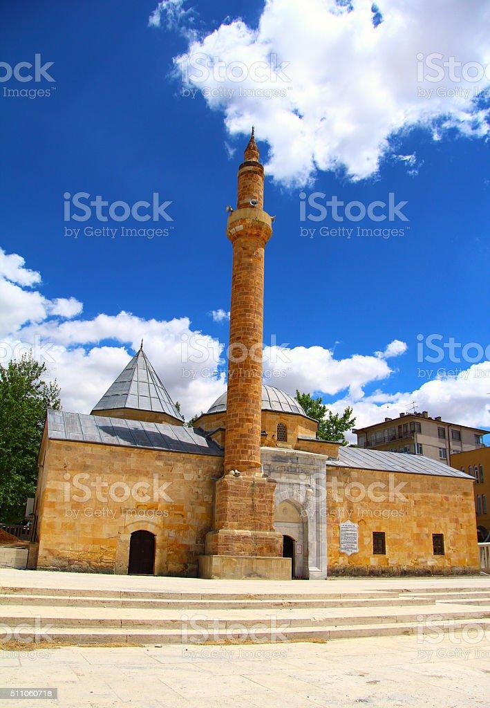 Ahi Evran Mosque, Kırşehir, Turkey stock photo