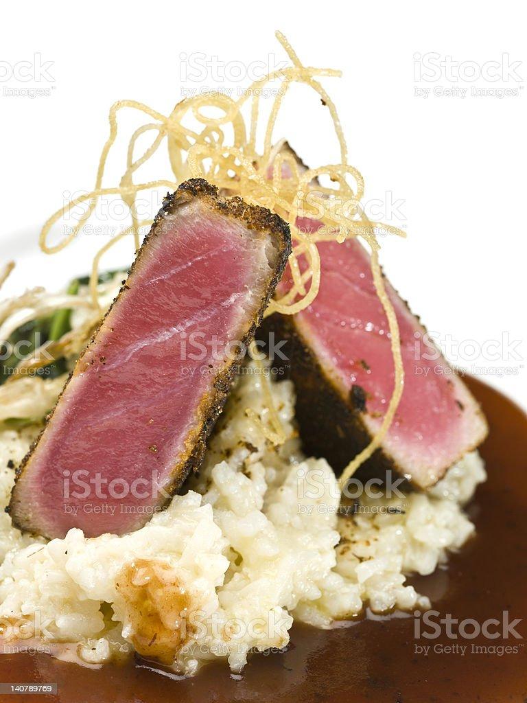 Ahi Tuna fillet royalty-free stock photo