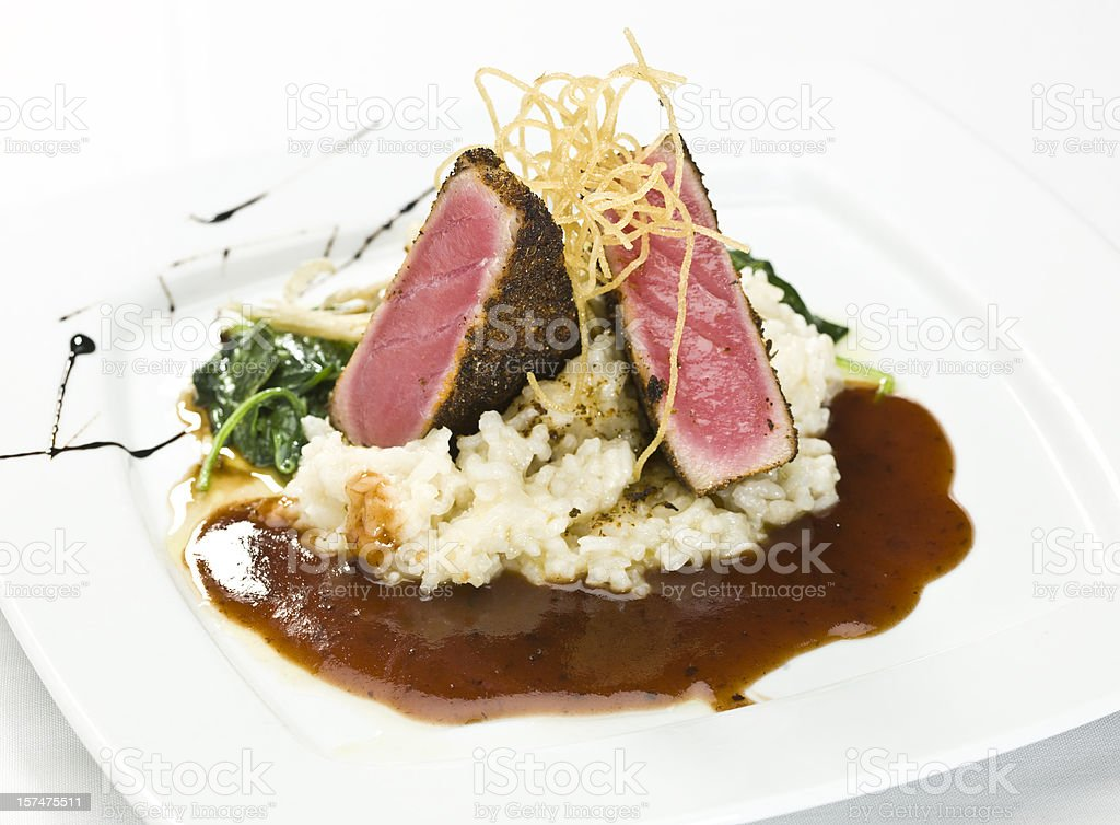 Ahi Tuna fillet royalty-free stock photo