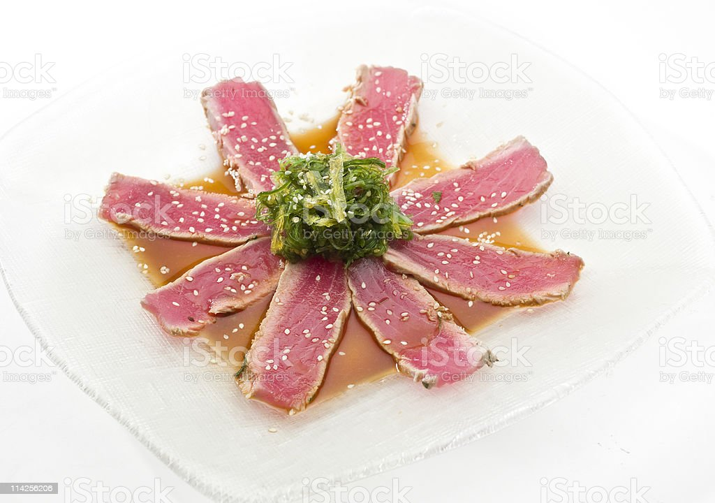 Ahi Tuna stock photo