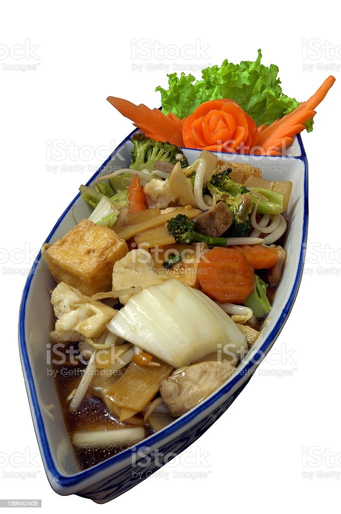 Ahoi for chinese food royalty-free stock photo