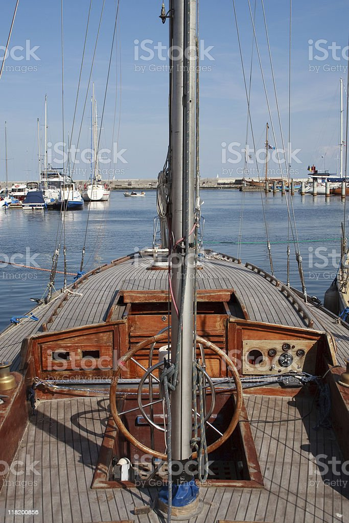Ahoy royalty-free stock photo