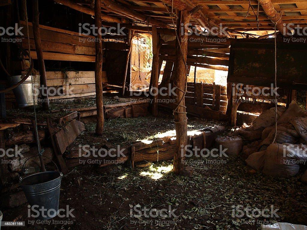 ah?r, barn royalty-free stock photo