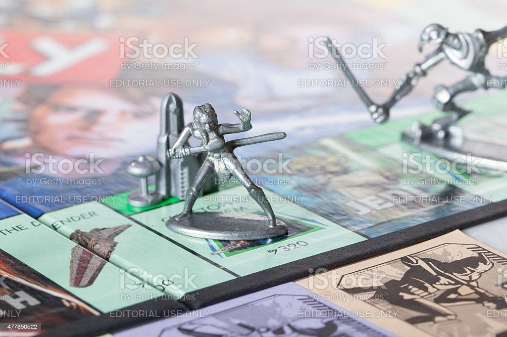 Ahsoka Tano-Monopoly stock photo