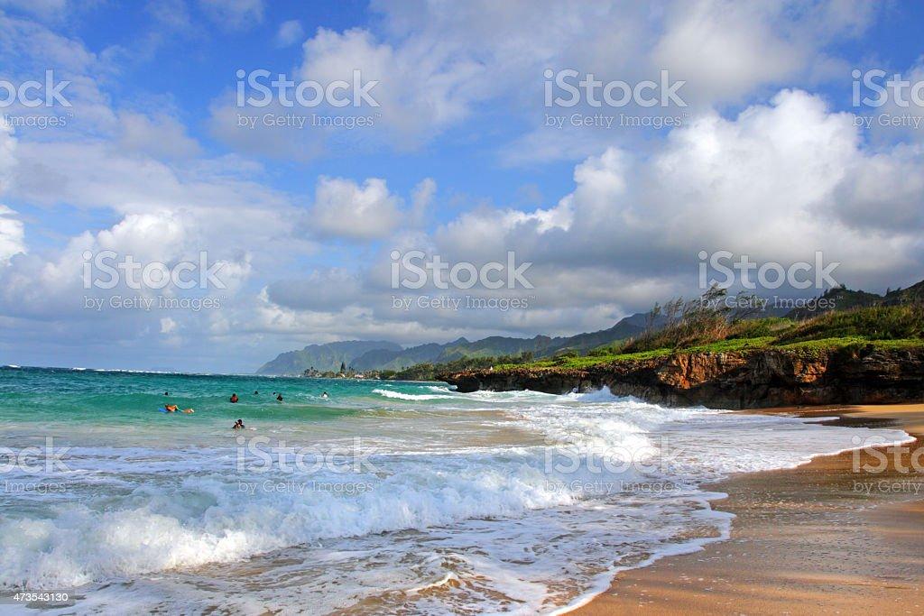 O'ahu, Hawaii stock photo