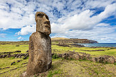 Ahu Tongariki Travelling Moai Easter Island Statue Rapa Nui