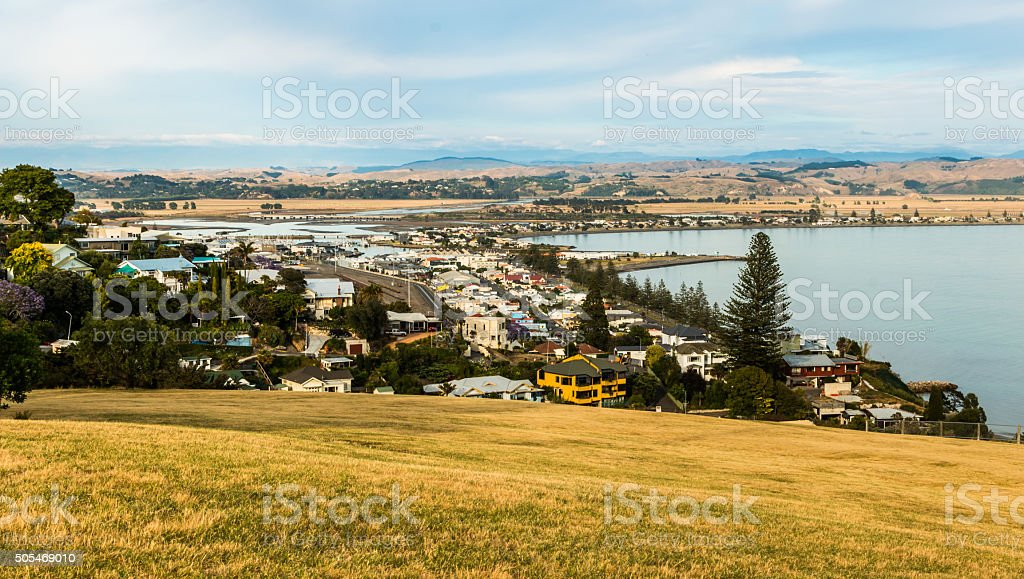 Ahuriri Napier New Zealand stock photo