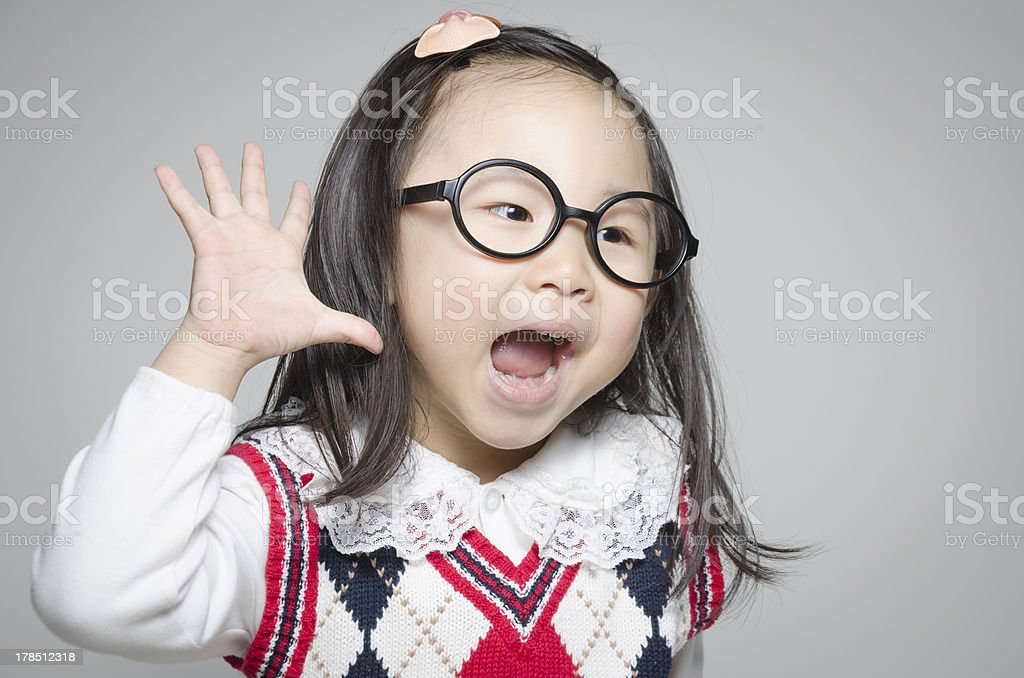 Ah,What do you say? royalty-free stock photo