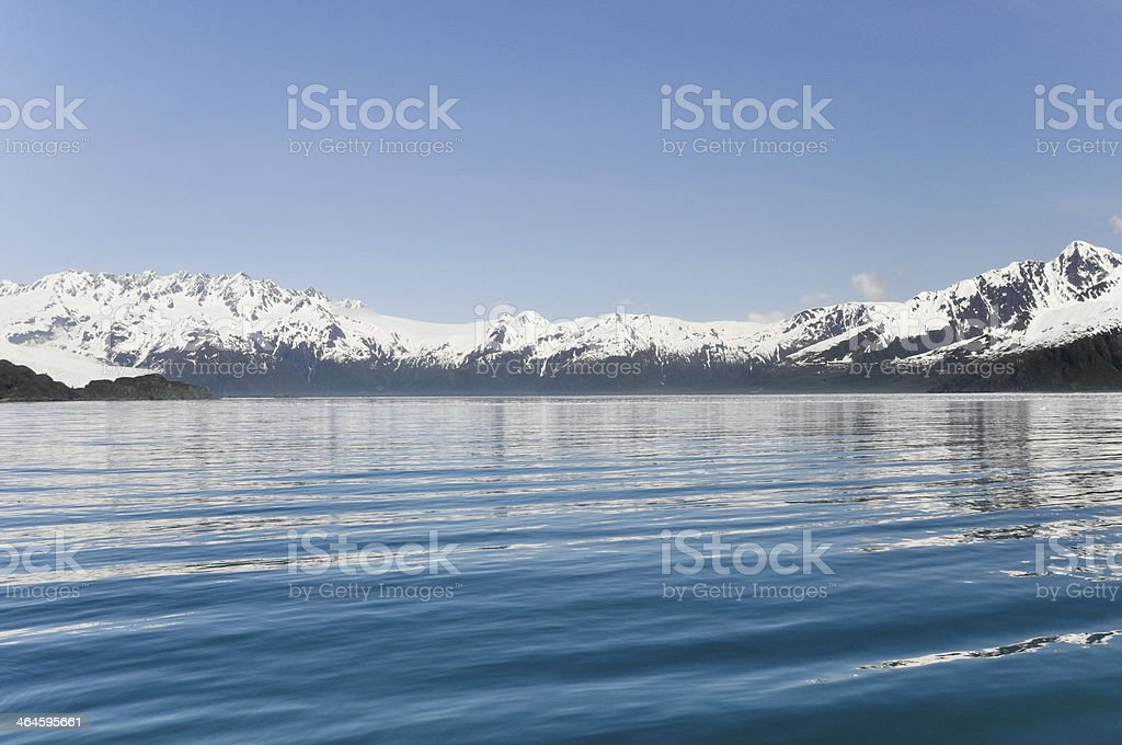Aialik bay, Kenai Fjords National Park, Alaska stock photo